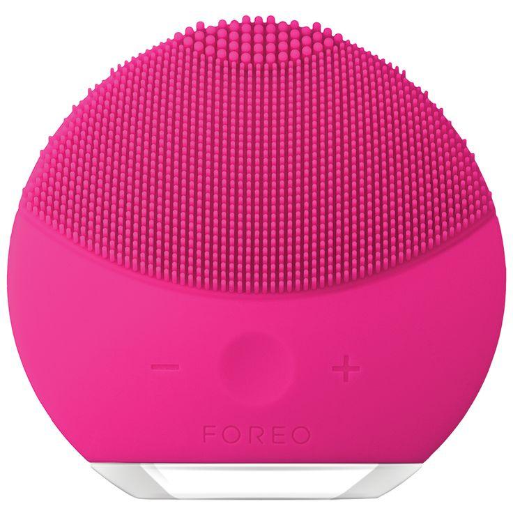 FOREO LUNA mini 2 Facial Cleansing Brush for All Skin Types - Fuchsia #affiliate