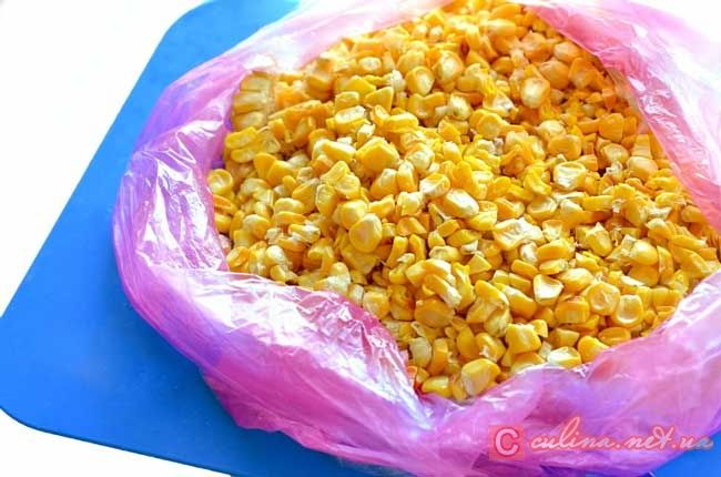 Запеченная замороженная кукуруза зернами – рецепт с фотографиями