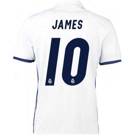 Real Madrid 16-17 #James Rodriguez 10 Hemmatröja Kortärmad,259,28KR,shirtshopservice@gmail.com