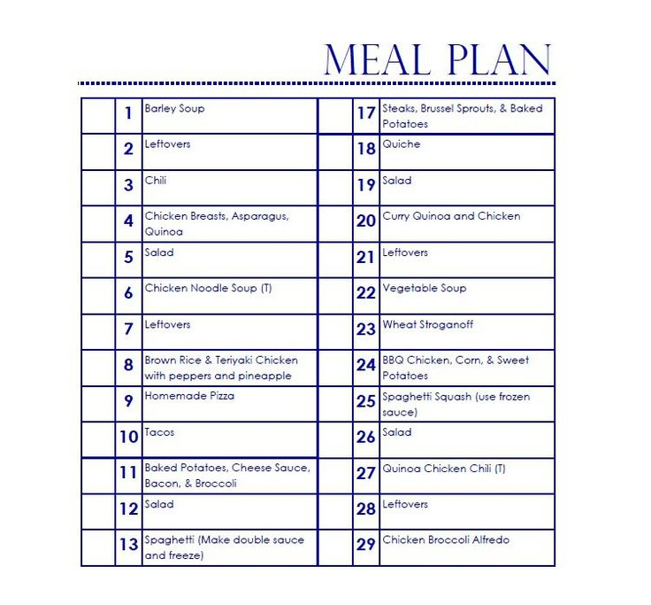 17 best ideas about meal plan templates on pinterest meal planning templates menu planning. Black Bedroom Furniture Sets. Home Design Ideas