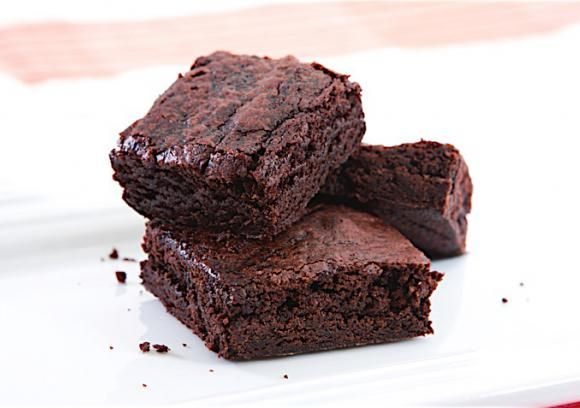 Brownies are a perfect place to slip in some creamy avocado. In place of some of the butter, avocado adds creaminess with more nutrients and fewer calories. You will never know there's a healthy fruit in there, thanks to the cocoa and vanilla. These are lower fat brownies, and best slightly underbaked so they stay moist and gooey.