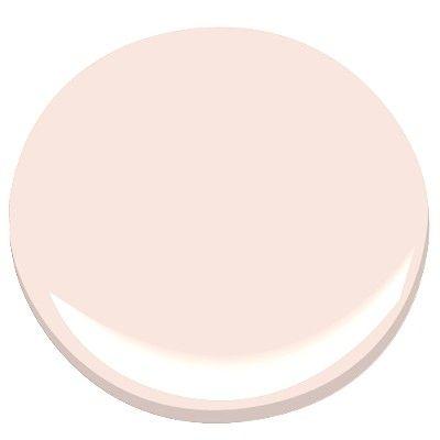 Pink Cloud (Benjamin Moore paint) - used in a beautiful dining room below...