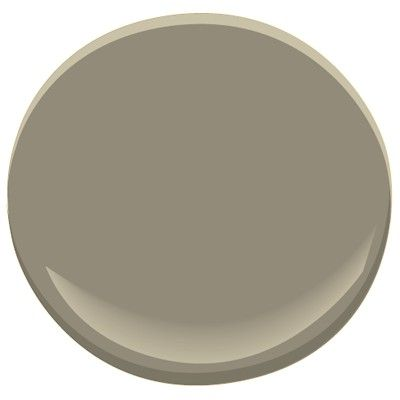 Benjamin Moore Copley Gray - Would be pretty on interior doors with white walls