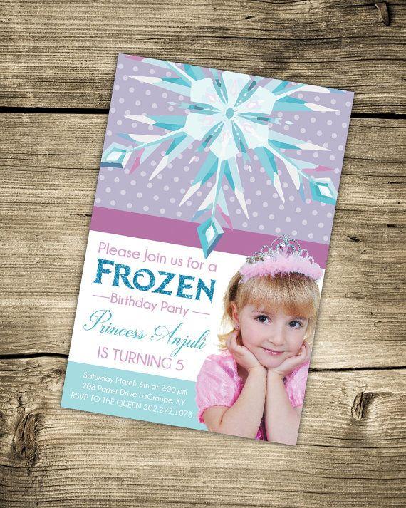Best 25 Frozen Invitations Ideas On Pinterest Frozen