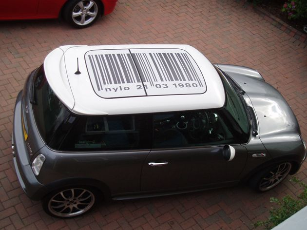 MINI Cooper Roofs We Have Done Some Sunroof Decals Using The - Bmw mini roof decals