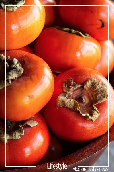 tart persimmon, fruit, sweet food, autumn harvest