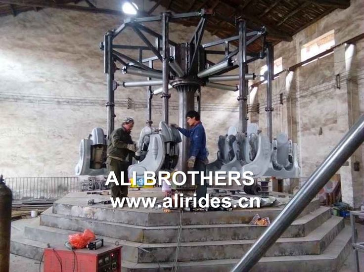 Top quality cheap airborne shot amusement park rides double flying chairs for sale