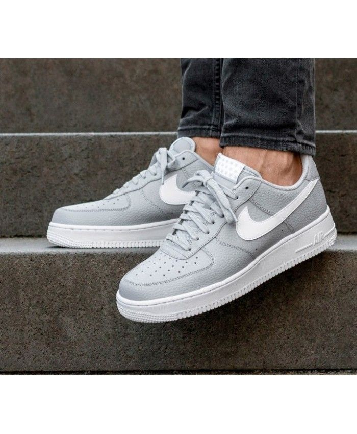 Nike Air Force 1'07 Shoes In Wolf Grey White   Nike air ...