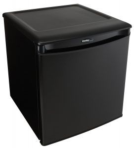 Best Mini Fridge Review no. 1. Danby DAR017A2BDD Compact All Refrigerator. If you need freezer space in your mini fridge, skip to our next review because the DAR017A2BDD doesn't have a freezer.