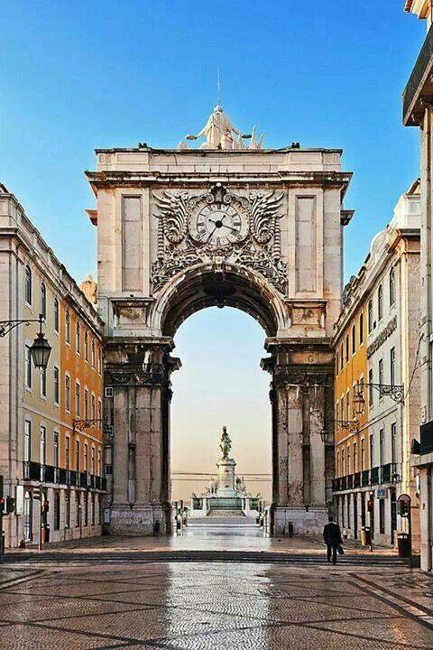 Arco Rua Augusta, Lisboa, Portugal