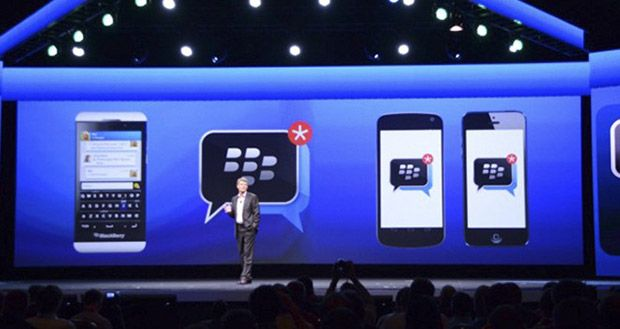 BlackBerry Messenger estará disponible para iOS y Android gratis