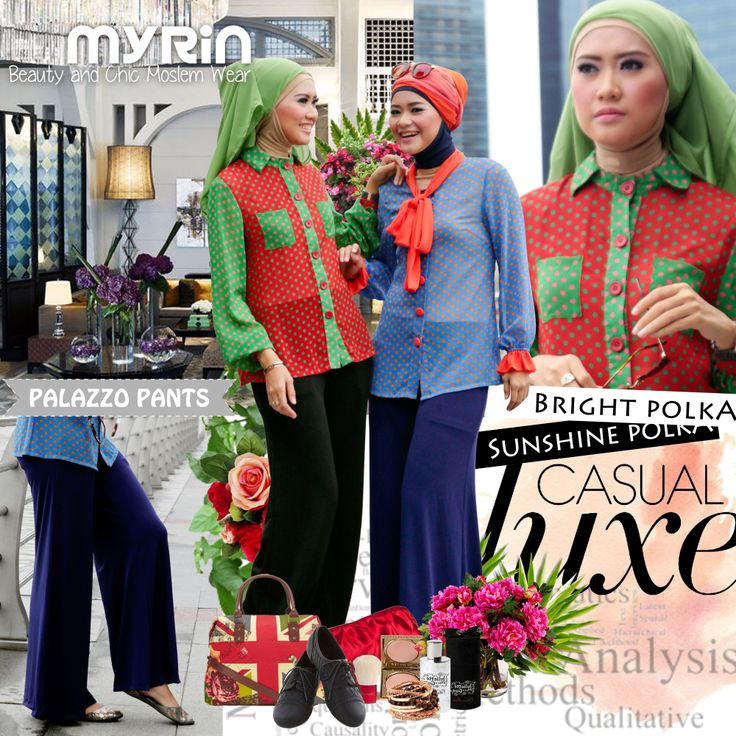 Favorite Combo! Bright Polka (Greeny) and Sunshine Polka (Blue) only 250.000 and now 30% off dear :)