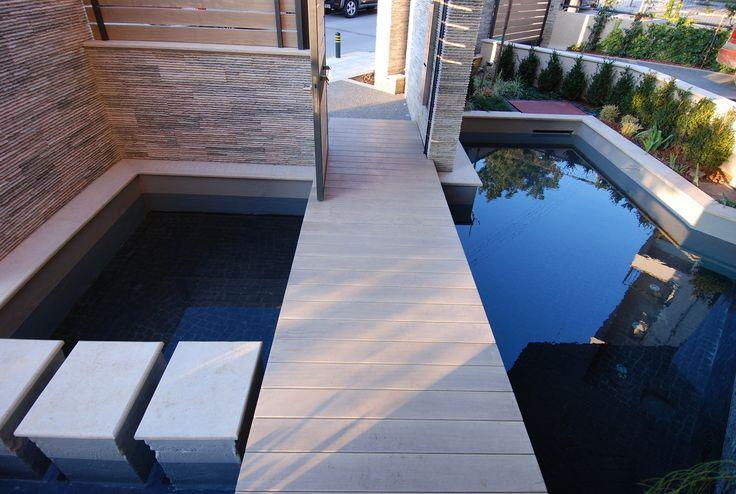 Είσοδος πάνω στο νερό | kritikoswood | Accoya