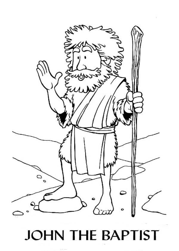 Coloring Pages John The Baptist And Church Leaders