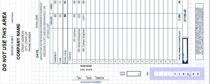 Bank Deposit Slip Template Excel Invoice Templates Pinterest   Free Deposit  Slip Template Word  Free Deposit Slip Template Word