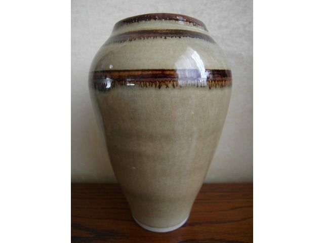 Oswald Stephens (OC Stephens) Vase. RARE, From Stephens Own Collection. Invercargill -