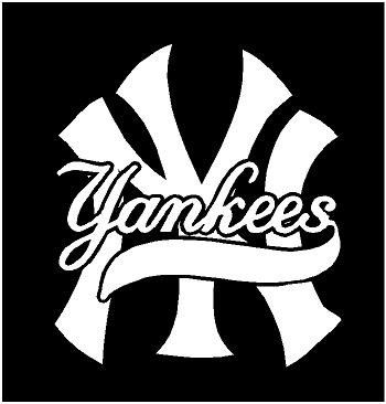 New York Yankees Car Decals For Windows