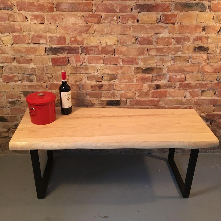 Custom sofabord lavet af massiv ask.  #Wood #Woodworks #Træ #Custom #Furniture #Møbler #Vintage #VintageKBH #Genbrug #Snedker #Plankebord #Bænk #Bench #Shelfs #Hylde #Denmark #Danmark #Frederiksberg
