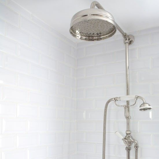 Period-style shower | Ideal Home bathroom makeover | Bathroom design idea | PHOTO GALLERY | Housetohome