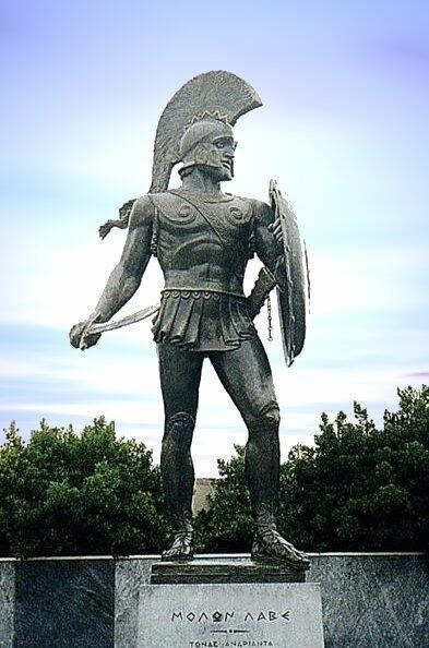pictures of ancient warriors   Leonidas, the Spartan warrior