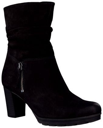 Zwarte Gabor Korte laarzen