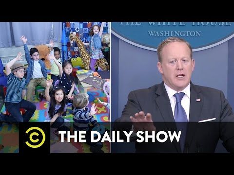 Analysis:'The Daily Show' imagined a White House press briefing as a kindergarten class, & it was spot-on