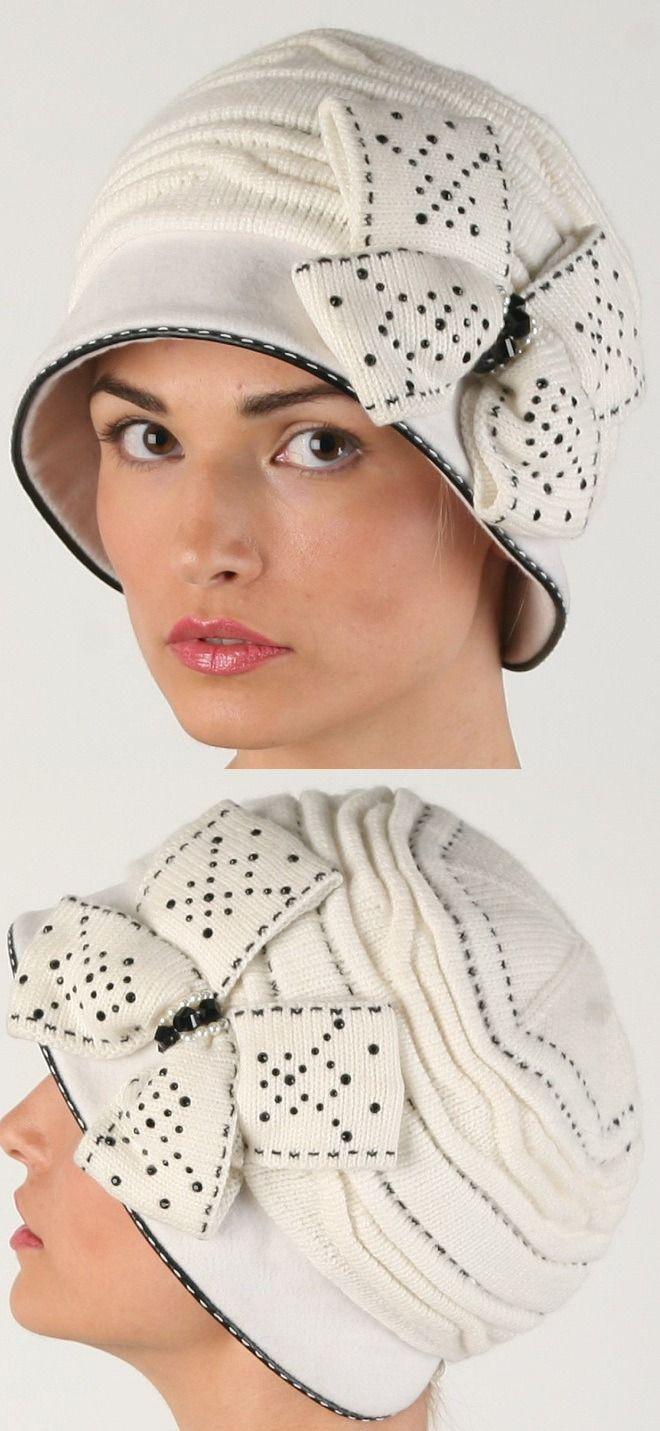 Комбинированная шляпка.