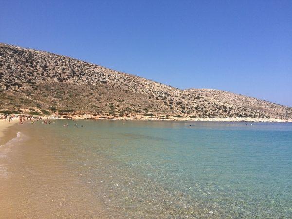 Crystal beach of Agia Theodoti