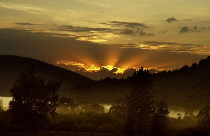 piękno podziwiamy od wschodu...do zachodu...(Bóbrka)