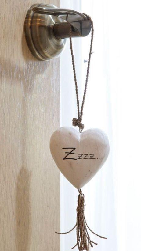 neutrals.quenalbertini: A Sleeping Heart Door Message | Ana Rosa