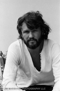 Kris Kristofferson (1970) ~ I think this was the first picture I saw of Kris Kristofferson ~ On his Ballads Album.  Have never heard.