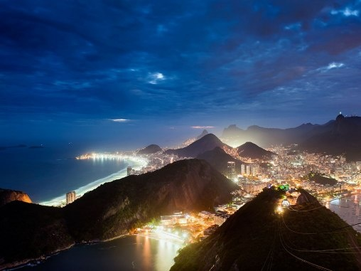 A Stunning View of Rio de Janeiro, Brazil. I want to go now especially since it's summertime there.