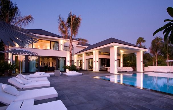 Marbella spain contemporary villa house in marbella - Ambience home design marbella ...