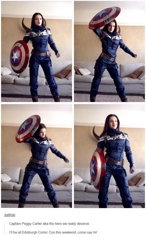 tumblr cosplay 2015 captain peggy carter --> I love this so much!!!