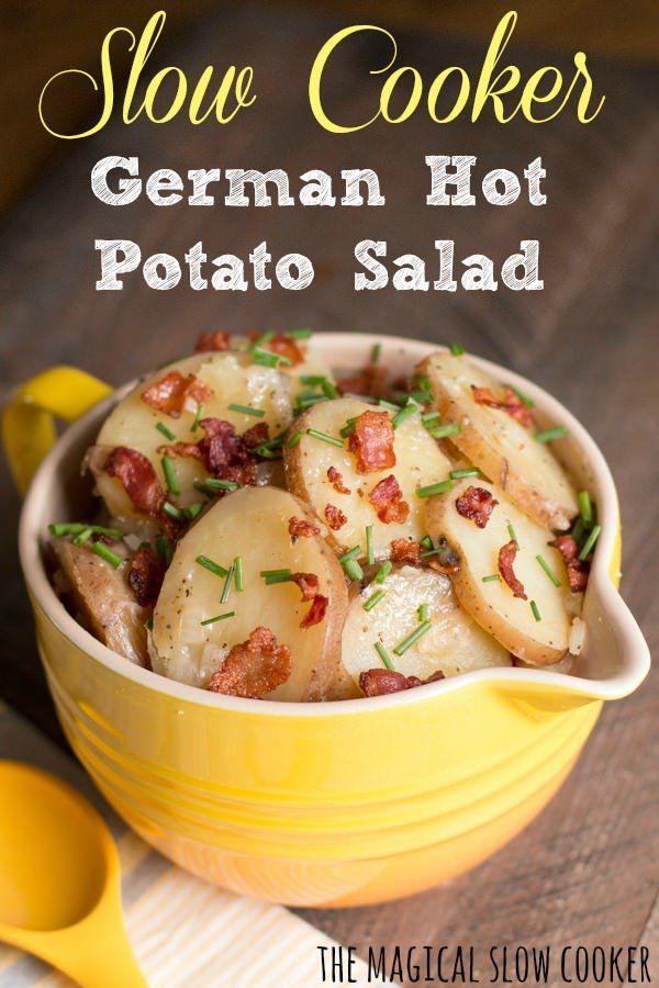 Hot German Potato Salad - The Magical Slow CookerThe Magical Slow Cooker
