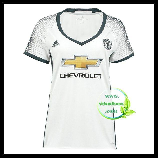 Fotballdrakter Manchester United Dame Tredjedraktsett 2016-2017
