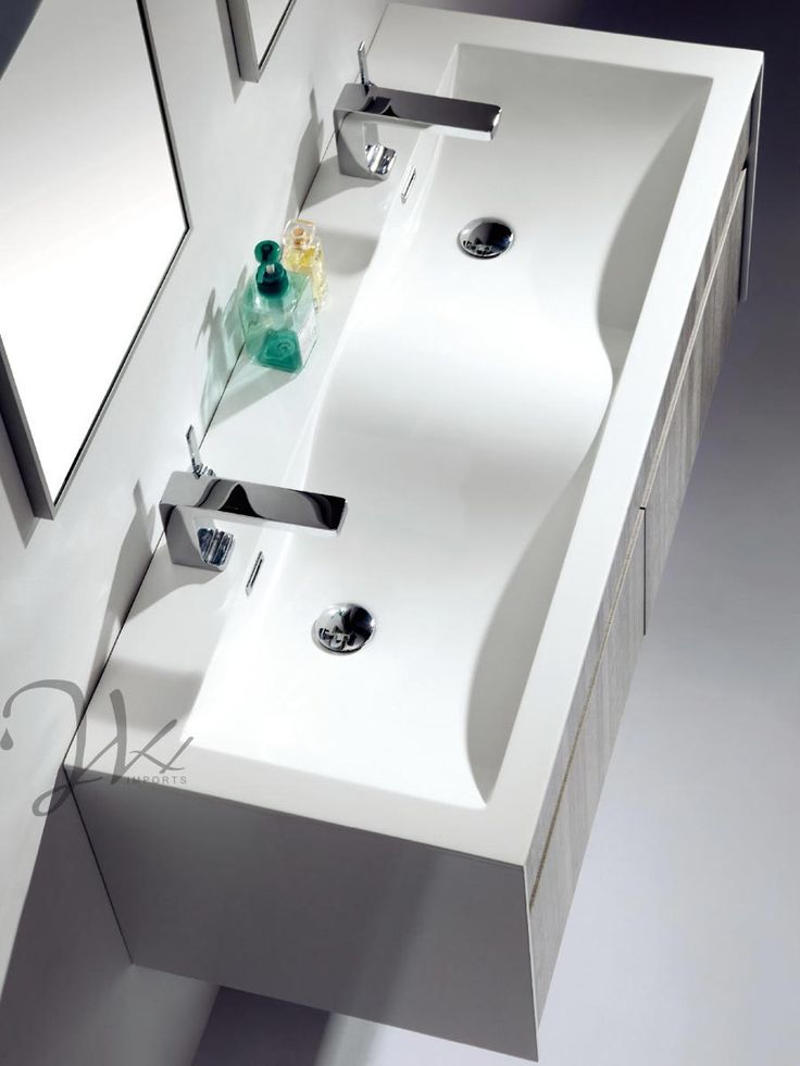 Featured Product Of The Month Flen Double Sink Vanity Floating Bath Vanities Pinterest