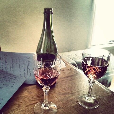 Creative writing workshops with alcohol free sparkling Pomegranate juice :-)