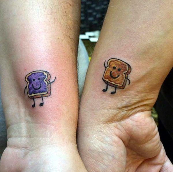 47 Unique Best Friend Tattoos that Redefine your Friendship