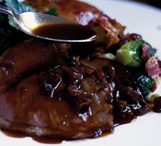 Date & red wine sauce                                                       …