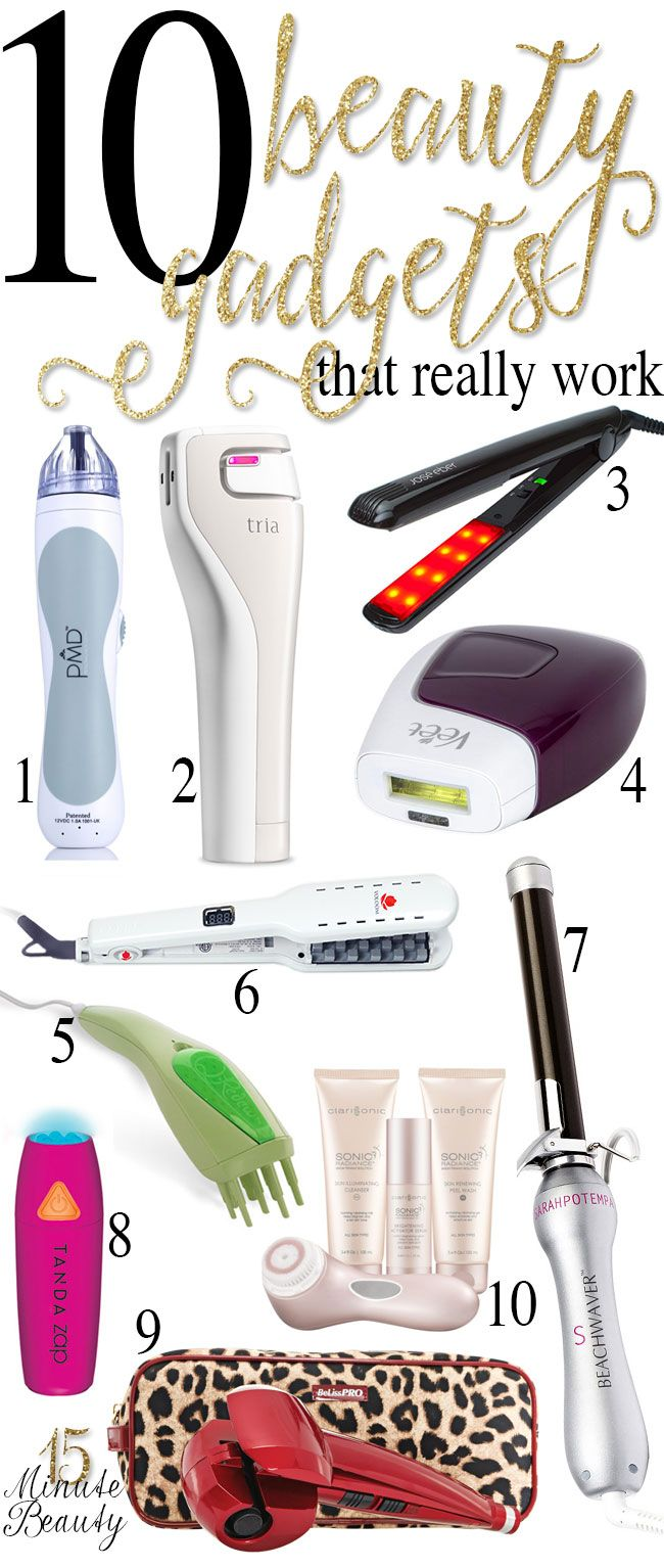 10 Beauty Gadgets That Really Work! These ones are definitely worth the splurge.