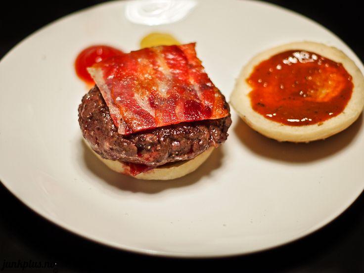 BBQ Bacon 54 Celsius Sous Vide Burger