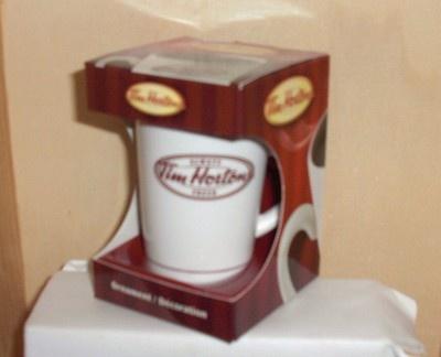 Tim Horton's Coffie Cup Tree Ornament 2011