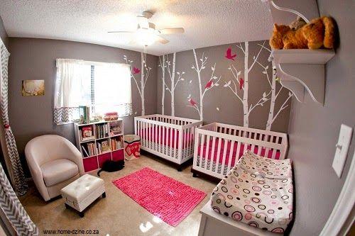 decoration chambre jumelles 1 Décoration Chambre Jumelles