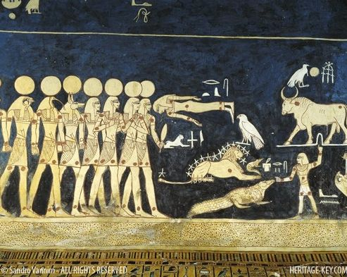 The Tomb Of Ancient Egyptian Pharaoh Seti I Is The Longest Deepest And Most Map Of The Starsancient