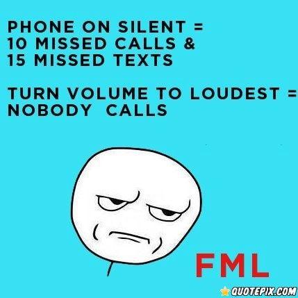 Phone On Silent.