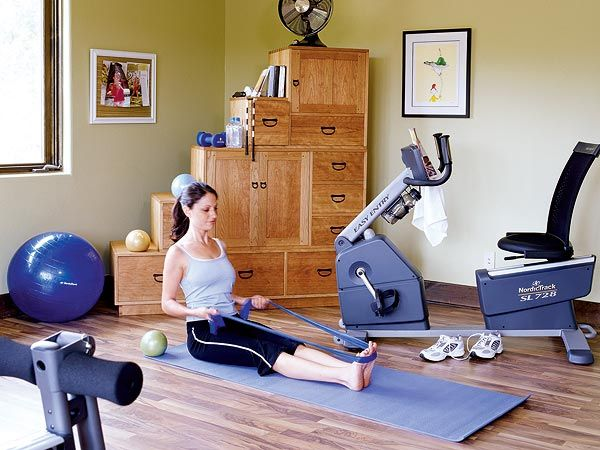 Best home exercise rooms ideas on pinterest