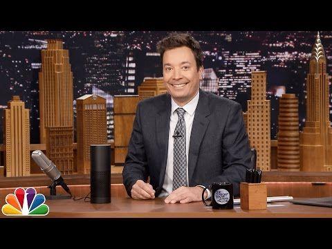 Jimmy Reveals a Few of Tonight Show's Alexa Skill Easter Eggs - YouTube