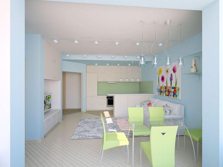 Картинки по запросу кухня совмещенная с гостиной идеи и фото