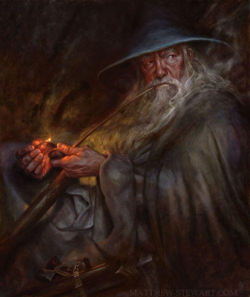 Gandalf: A Light in the Dark by Matthew Stewart